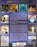 Call of Cthulhu: Shadow of the Comet DOS Back Cover