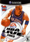 NBA Live 2003 GameCube Front Cover