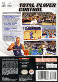 NBA Live 2003 GameCube Back Cover