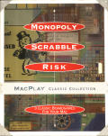 Monopoly / Scrabble / Risk: MacPlay Classic Collection Macintosh Front Cover