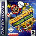 Mario Party Advance Game Boy Advance Front Cover