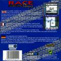 Race Days Game Boy Back Cover
