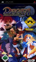 Disgaea: Afternoon of Darkness PSP Front Cover