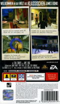 From Russia with Love PSP Back Cover