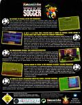 Sensible World of Soccer DOS Back Cover