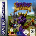 Spyro: Attack of the Rhynocs Game Boy Advance Front Cover