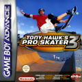 Tony Hawk's Pro Skater 3 Game Boy Advance Front Cover