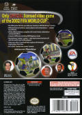 2002 FIFA World Cup GameCube Back Cover