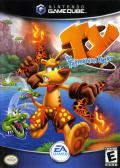 Ty the Tasmanian Tiger GameCube Front Cover