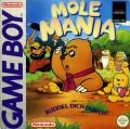 Mole Mania Game Boy Front Cover