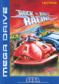 Rock 'n Roll Racing Genesis Front Cover