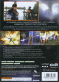 Warriors Orochi Xbox 360 Back Cover