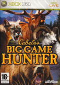 Cabela's Big Game Hunter Xbox 360 Front Cover