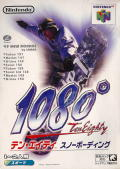 1080° Snowboarding Nintendo 64 Front Cover