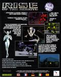 Rise of the Robots DOS Back Cover