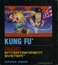 Kung-Fu Master NES Front Cover