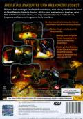 Ghost Rider PlayStation 2 Back Cover