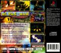 Ms. Pac-Man Maze Madness PlayStation Back Cover