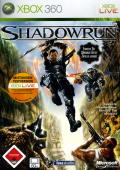 Shadowrun Xbox 360 Front Cover
