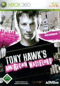 Tony Hawk's American Wasteland Xbox 360 Front Cover