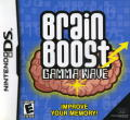 Brain Boost: Gamma Wave Nintendo DS Front Cover