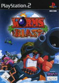 Worms Blast PlayStation 2 Front Cover