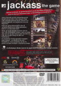 Jackass: The Game PlayStation 2 Back Cover
