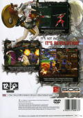 Guilty Gear Isuka PlayStation 2 Back Cover