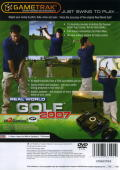 Real World Golf 2007 PlayStation 2 Back Cover