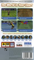 Virtua Tennis: World Tour PSP Back Cover