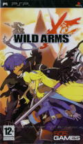 Wild Arms XF PSP Front Cover