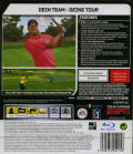 Tiger Woods PGA Tour 07 PlayStation 3 Back Cover