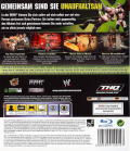 WWE Smackdown vs. Raw 2009 PlayStation 3 Inside Cover