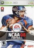 NCAA Football 08 Xbox 360 Front Cover