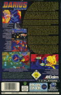 Darius Gaiden SEGA Saturn Back Cover