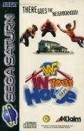 WWF in Your House SEGA Saturn Front Cover
