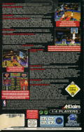 NBA Jam Extreme SEGA Saturn Back Cover