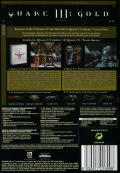 Quake III (Gold) Macintosh Back Cover