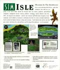SimIsle: Missions in the Rainforest Macintosh Back Cover