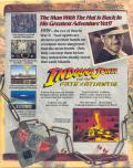 Indiana Jones and the Fate of Atlantis DOS Back Cover