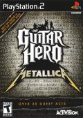 Guitar Hero: Metallica PlayStation 2 Front Cover