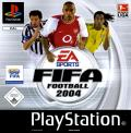FIFA Soccer 2004 PlayStation Front Cover