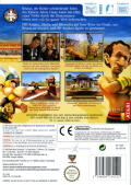 Asterix at the Olympic Games Wii Back Cover