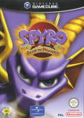 Spyro: Enter the Dragonfly GameCube Front Cover