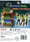 Super Swing Golf Wii Back Cover