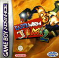 Earthworm Jim 2 Game Boy Advance Front Cover