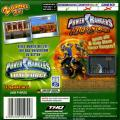 2 Games in 1: Power Rangers: Time Force / Power Rangers: Ninja Storm Game Boy Advance Back Cover