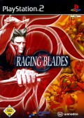 Raging Blades PlayStation 2 Front Cover