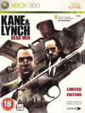 Kane & Lynch: Dead Men (Limited Edition) Xbox 360 Front Cover