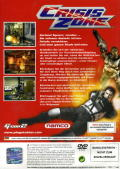 Time Crisis: Crisis Zone PlayStation 2 Back Cover